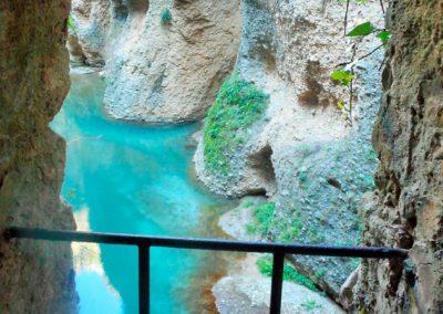Acceso al río Guadalevín