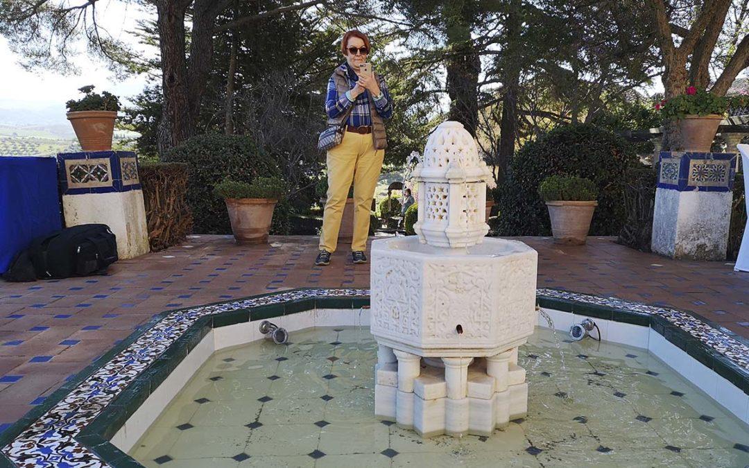 La Casa del Rey Moro recupera la 'Fuente del Paraíso' y vuelve a situarla en los históricos jardines diseñados por el paisajista francés Forestier