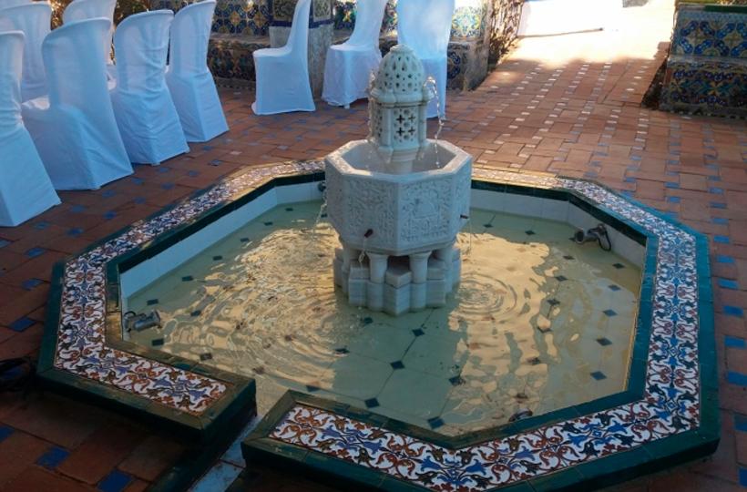 La Casa del Rey Moro recupera una fuente árabe que fue expoliada